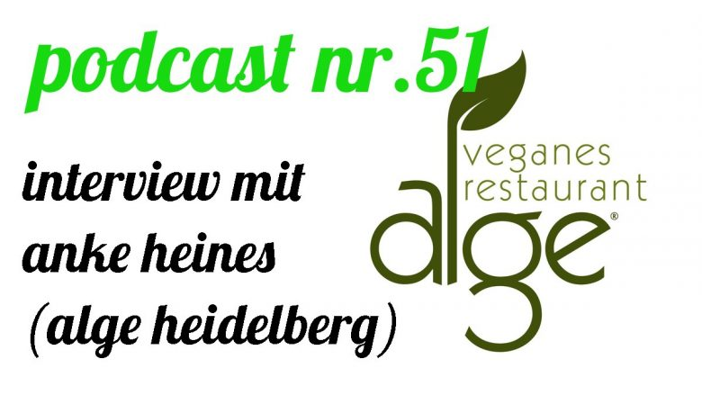 not so urban podcast Nr.51 (Interview mit Anke Heines von ALGE-Heidelberg) Interviewer: Andreas Allgeyer