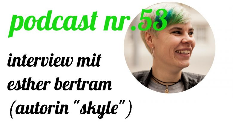 not so urban Podcast Nr.53: Interview mit Esther Bertram, Interviewer: Andreas Allgeyer (Coverbild)