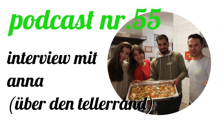 not so urban Podcast Nr. 55 mit Anna (über den Tellerrand) Cover