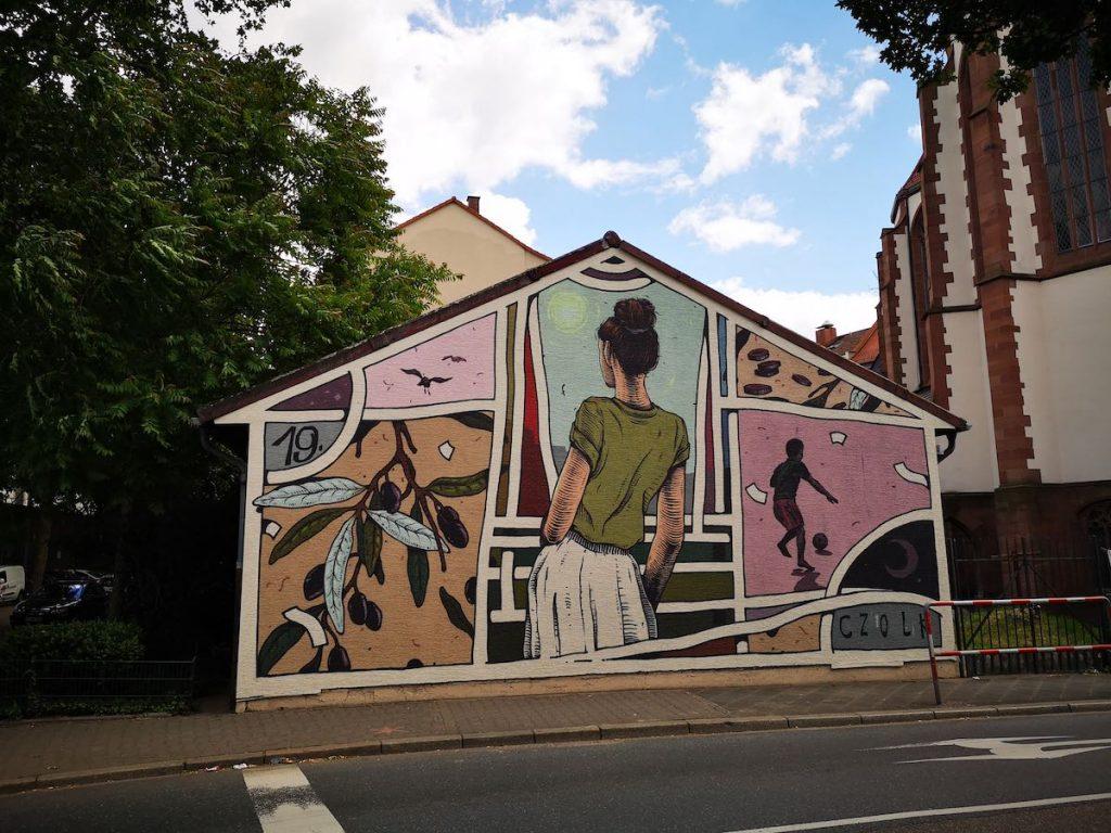 Mural in Mannheim