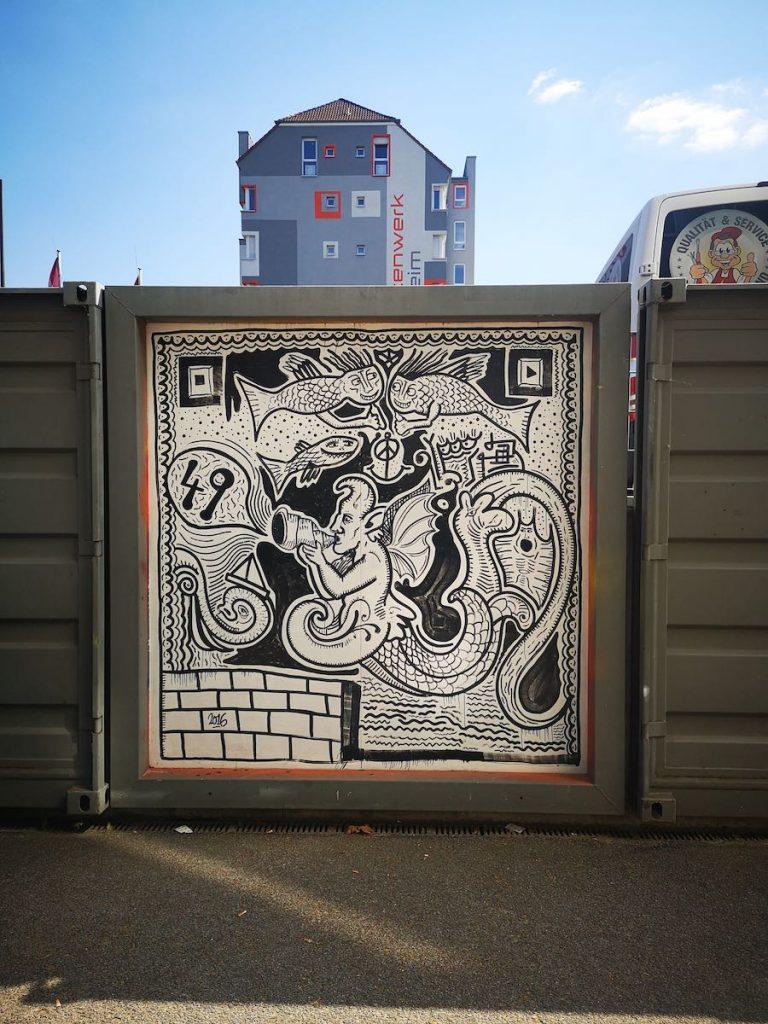 Muraltour in Mannheim (Teil 2)